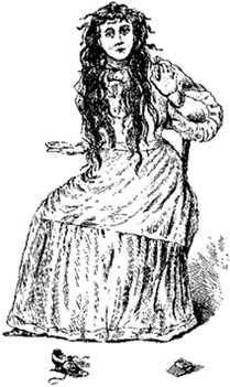 Un dibujo de Betsy Bell,publicado en 1894.
