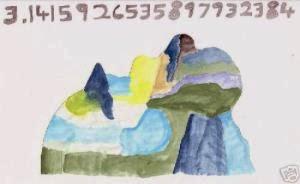 Número π dibujado por Daniel Tammet